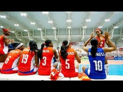 Cuba vs Algeria | 31 Aug 2015 | 2nd Round | 2015 FIVB Volleyball Women's World Cup