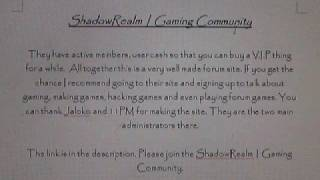ShadowRealm | Gaming Community