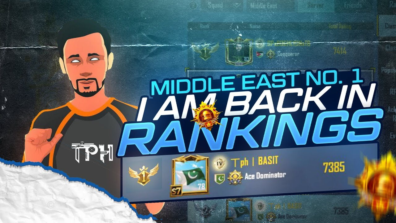 Download MIDDLE EAST RANK #1 IS BACK      TPH BASIT is Live     PUBG Mobile