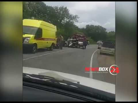 Один человек погиб и восемь пострадали в результате жёсткой аварии в Партизанске