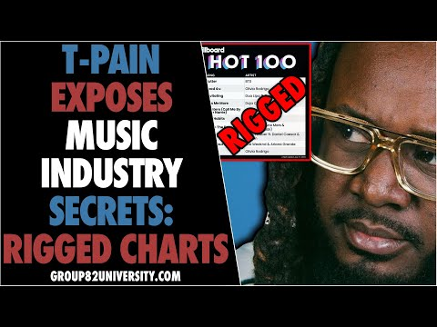 T-Pain Exposes Music Industry Secrets: Rigged Charts