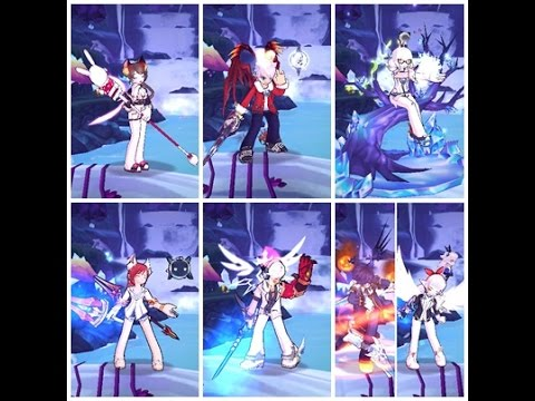 【Elsword】IS,CE,DIO,RF,AS,BH PVP #1