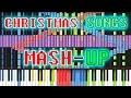 Gambar cover Black MIDI Synthesia - Christmas Songs Mashup 150,000/150k notes ~ TheTrustedComputer/Ryan M.