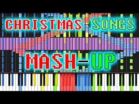 [Black MIDI] Synthesia - Christmas Songs Mashup 150,000/150k notes ~ TheTrustedComputer/Ryan M.