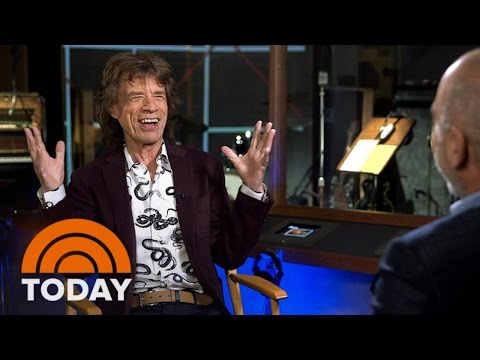 The Rolling Stones Exhibit Spans Band's 50 Year Career | TODAY