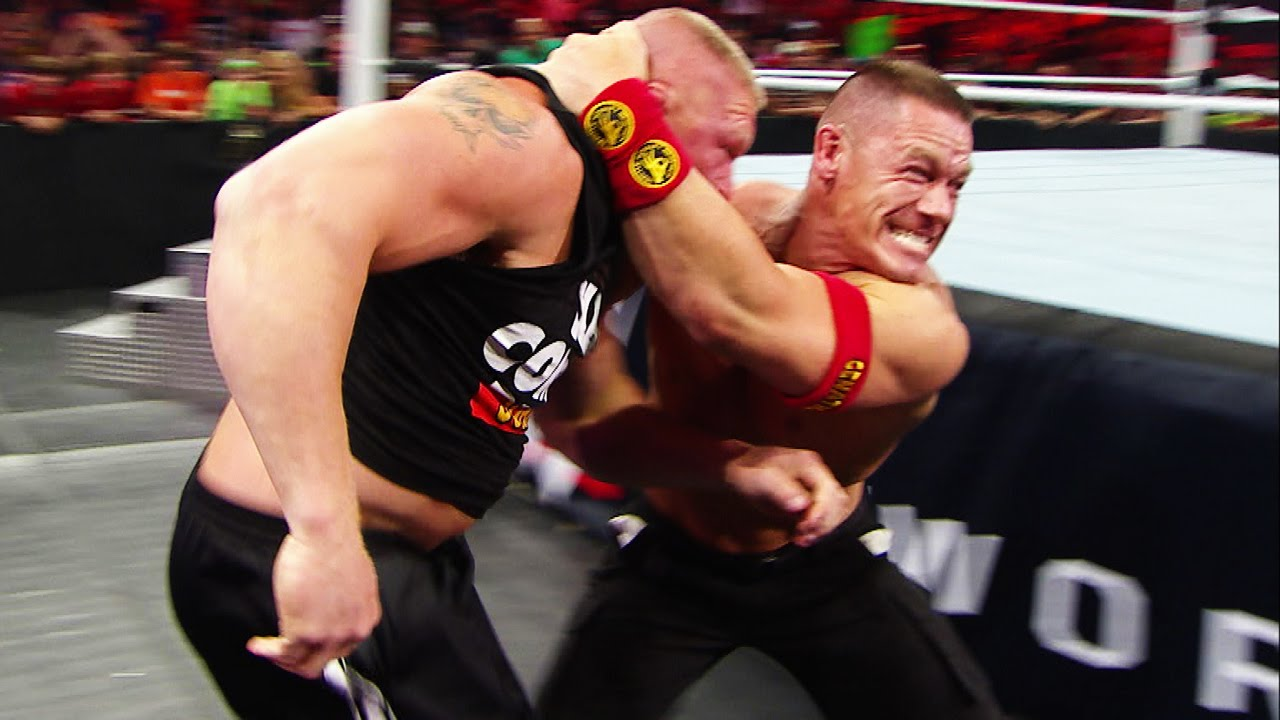 Unseen Footage Of The Brawl Between John Cena And Wwe World
