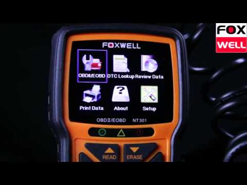 Foxwell Scan Tools - NT301 Software Update Procedure | Doovi