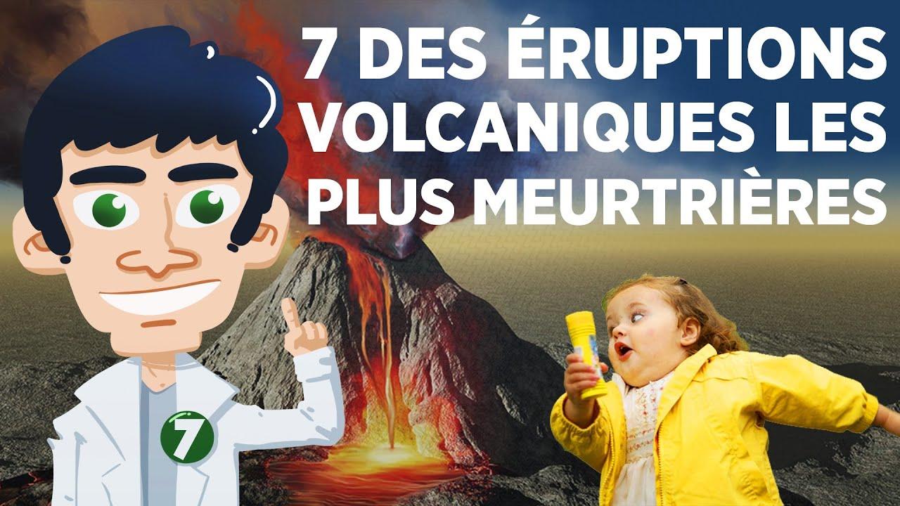 7 des éruptions volcaniques les plus meurtrières