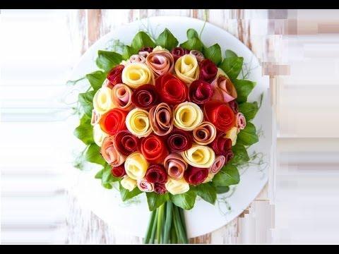 Smörgåstårta Bouquets Torta Salata Youtube
