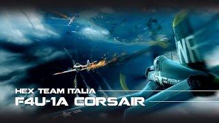 war thunder gameplay ita f4u 1a corsair la katana blu