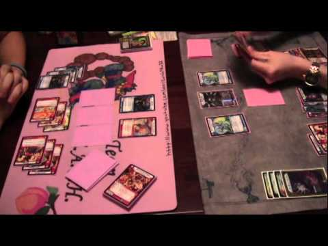 Kaijudo - Hyperspeed Aggro vs WDFL Control (Featuring Myself and CVH)