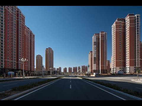 Surreal photos show the inside of China's 'largest ghost city'