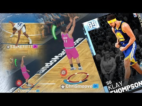 NBA 2K19 My Team - He's Leaning! Klay Takeover!