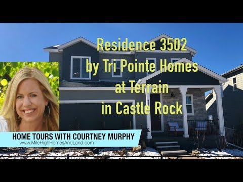 New Homes In Castle Rock Colorado Residence 3502 By Tri