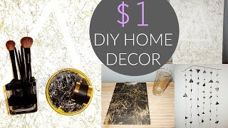Video $1 DIY HOME/ROOM DECOR | BRITT SIMERSON download MP3, 3GP, MP4, WEBM, AVI, FLV Juni 2017