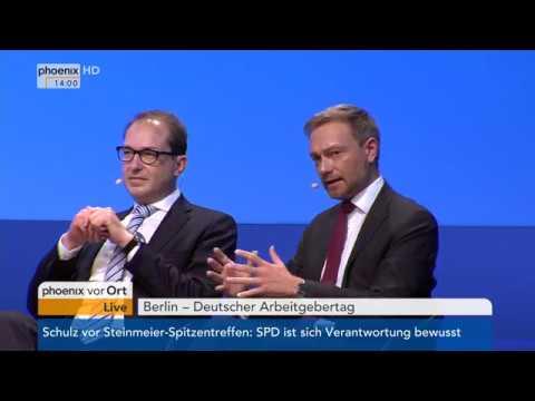 Podiumsdiskussion beim Arbeitgebertag in Berlin am 29.11.7