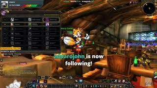 World of Warcraft [PC] Project 60 - Gnomeregan + Leveling (Duskwood). Warlock. Patch 7.3.5. ( ¬‿¬)