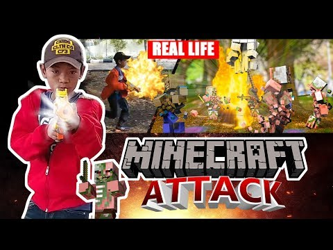 Minecraft Attack Real Life SFX
