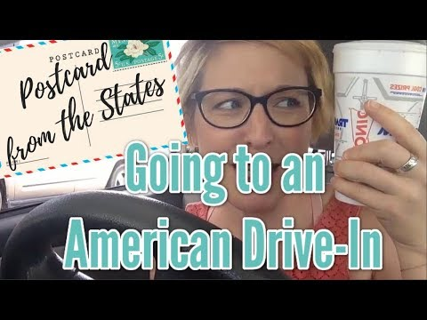 [POSTCARD FROM THE STATES] A typically American experience: A drive-in