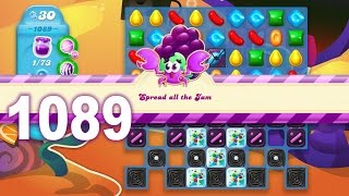 Candy Crush Soda Saga Level 1089 (No boosters)