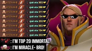 Miracle- BEST Invoker In The World! Mastered Ultra Instinct No One Can Stop Him WTF Combo Dota 2