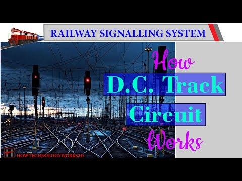 How DC Track Circuit Works ( 3D Animation )