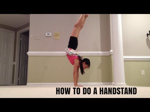how to learn to do a front walkover at home