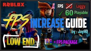 How To increase ROBLOX FPS & PERFORMANCE in Windows/Mac 2019 [Low End] FIX🔧