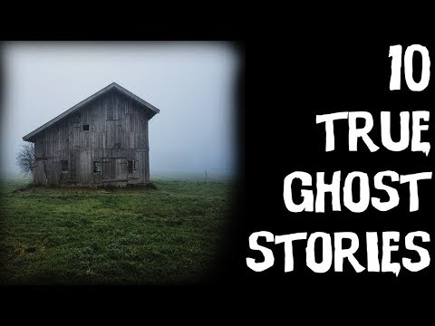 10 TERRIFYING TRUE Ghost Horror Stories Told In The Rain! (Scary Stories)