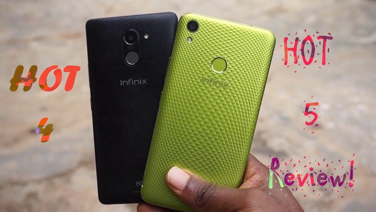 Infinix HOT 5 x559c Review VS Infinix HOT 4 x557 - Gaming
