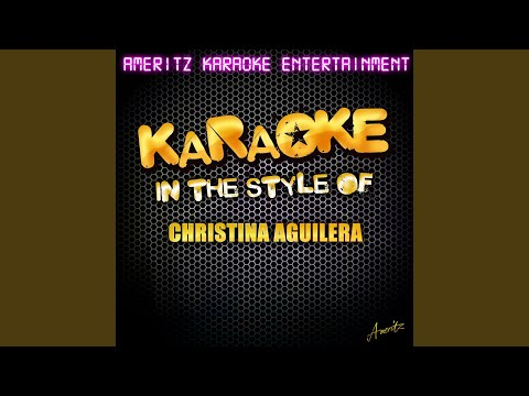 Have Yourself A Merry Little Christmas (In The Style Of Christina Aguilera) (Karaoke Version)