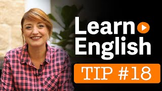 Learn English - EC's 101 Tips - Tip no 18