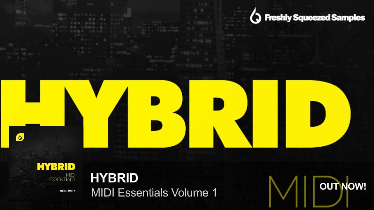 MIDI Files | Hybrid MIDI Essentials Volume 1 (Uplifting