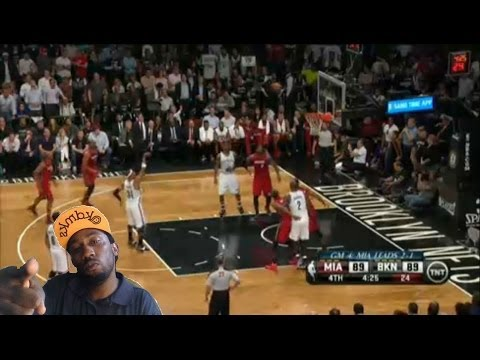 Miami Heat vs Brooklyn Nets game 4 Nba playoffs 2014 Lebron 49  3-1 its over ! Reaction