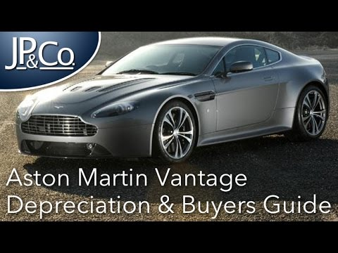 Aston Martin Vantage Buyers Guide Depreciation Analysis Youtube