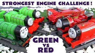 Thomas and Friends Strongest Engine - Green vs Red  TT4U