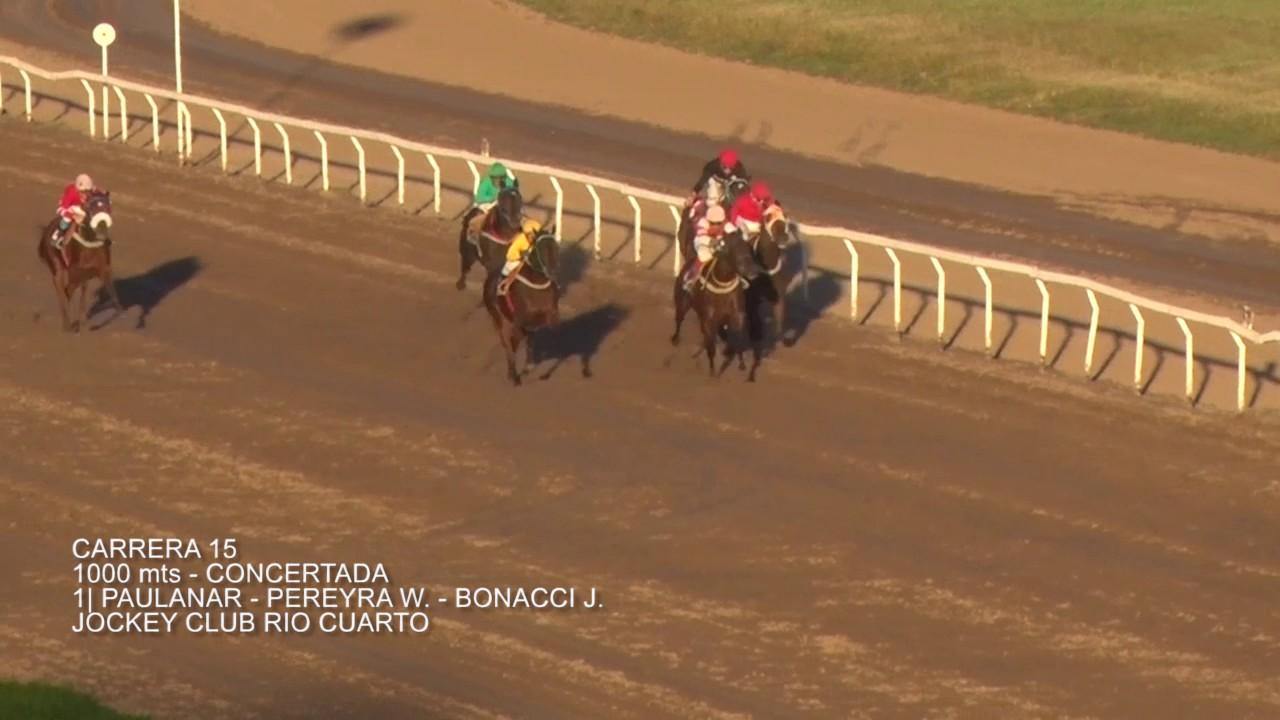 Carrera 15 21 De Mayo Jockey Club Rio Cuarto
