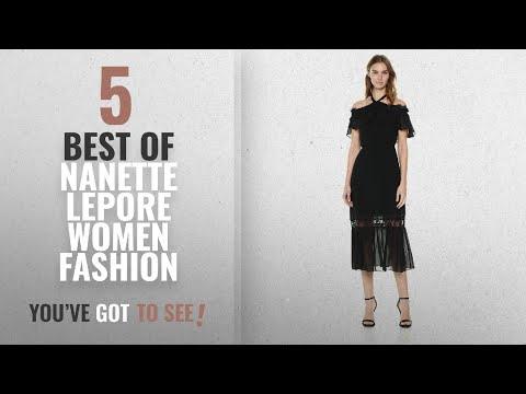 Nanette Lepore Women Fashion [2018 Best Sellers]: Nanette Nanette Lepore Women's Cold Shoulder