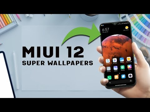 Download MIUI 12 Super Wallpapers (Live Walls) On Any Android - NO ROOT