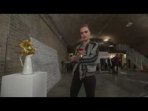 INTERVIEW WITH CARA DELEVINGNE// PRESENTATION RIMMEL LONDON