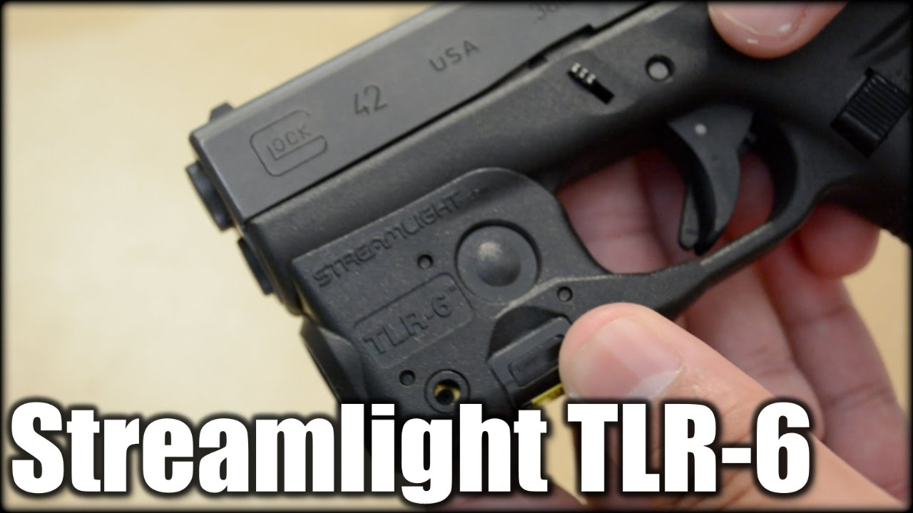 Streamlight Tlr 6 Light Laser Glock 42 43 Youtube
