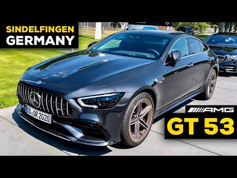 2020 MERCEDES-AMG GT 53 4-Door Coupé FULL Review Of CUSTOMER CENTER & Factory Tour in GERMANY!