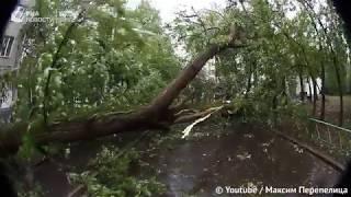 Ураган в Москве глазами очевидцев