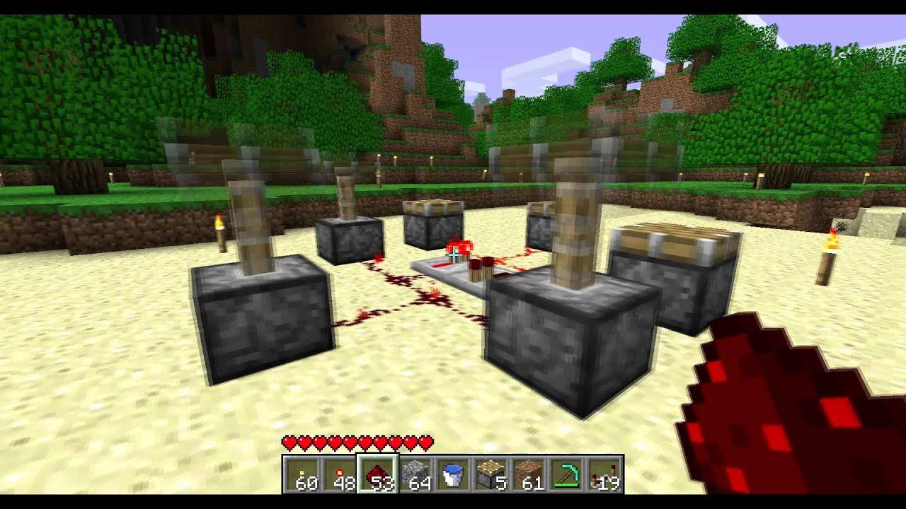 Minecraft Noise Annoyance Machine with Pistons (1.7.2) & Minecraft Noise Annoyance Machine with Pistons (1.7.2) - YouTube