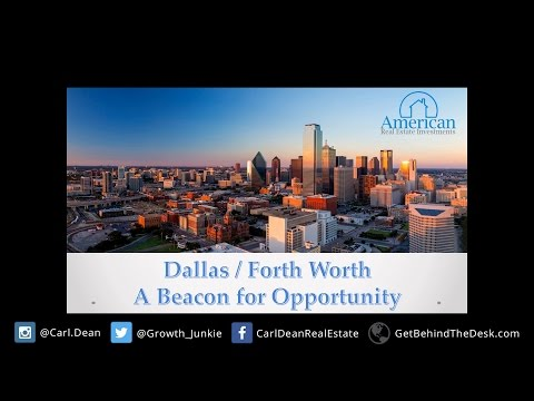 BTD Episode 003 - Why Texas is such a great investment. Economy-Jobs-Housing