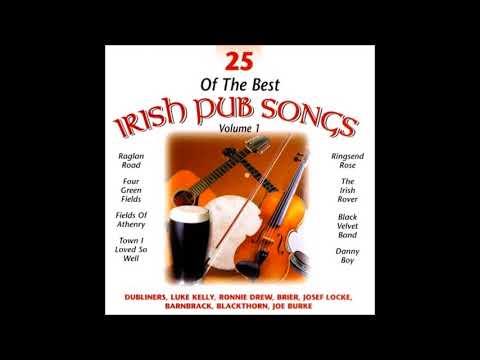25 Of The Best Irish Pub Songs  Full Album