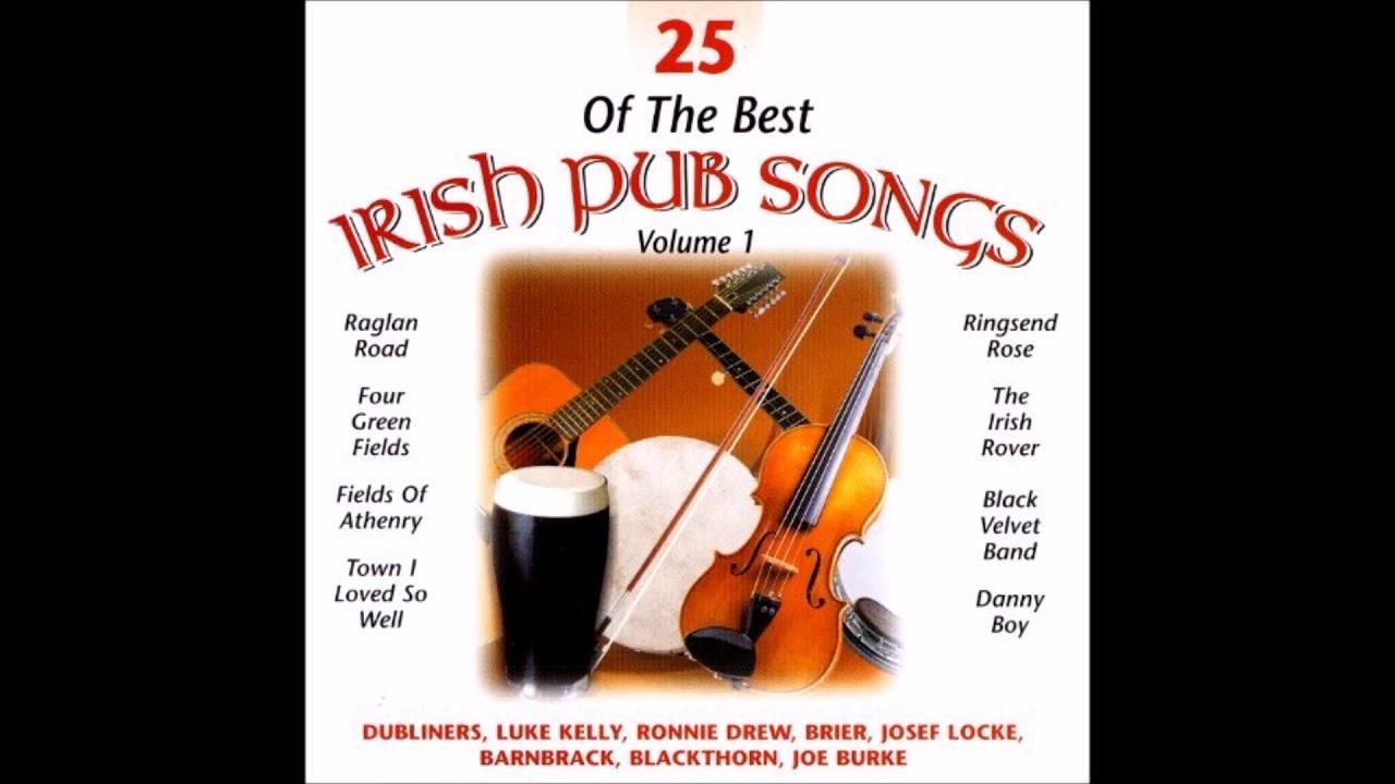 25 Of The Best Irish Pub Songs Vol1