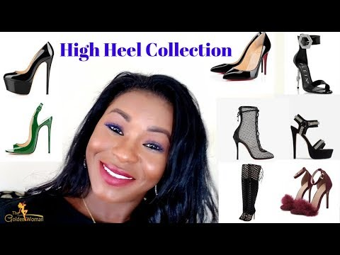 MY HIGH HEEL COLLECTION 2019