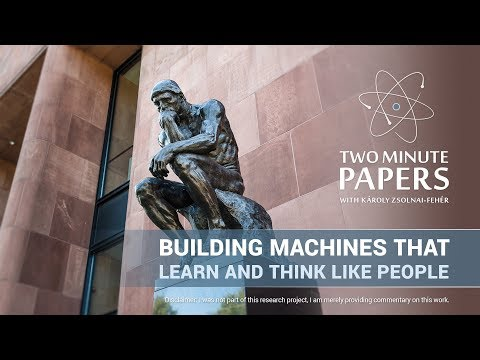 Building Machines That Learn and Think Like People  Two Minute Papers 223