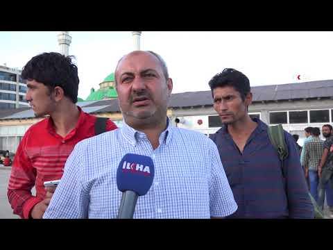 Umut Kervanı Afgan mültecilerine yemek dağıttı